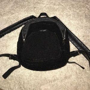 Zara Mini Teddy Backpack